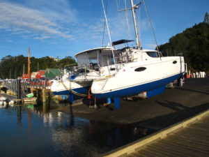 Boat inspections/surveys for Fountaine Pajot Catamaran